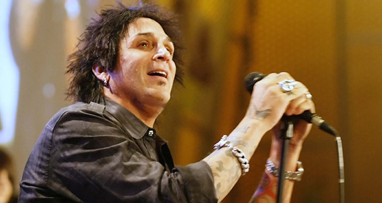 FILE - In this photo taken Thursday, April 28, 2011, Deen Castronovo, drummer for rock band Journey, performs
